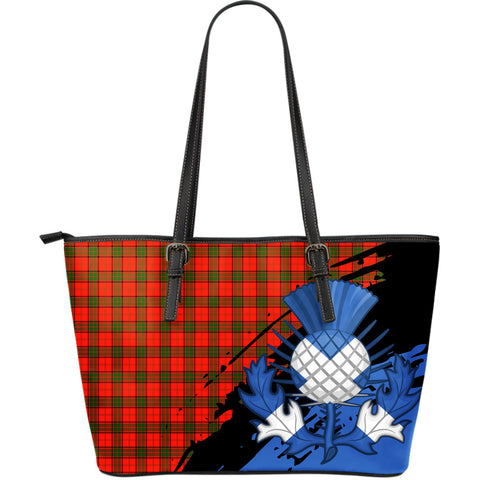 Adair Thistle Leather Tote Bag Large | Women Bags