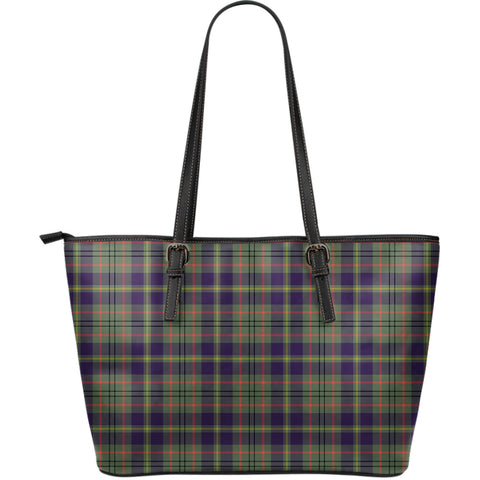 Image of Taylor Weathered Tartan Leather Tote Bag (Large) | Over 500 Tartans | Special Custom Design