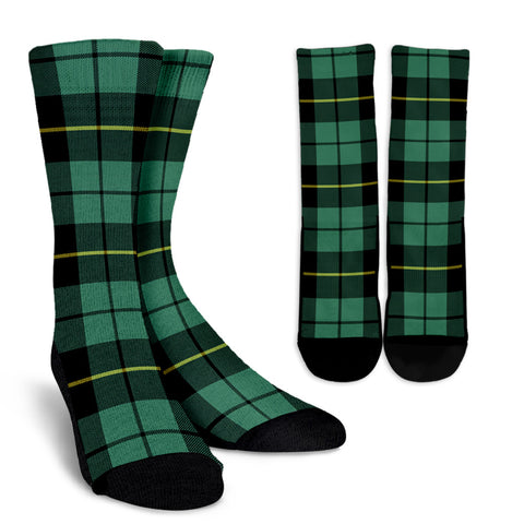 Wallace Hunting Ancient clans, Tartan Crew Socks, Tartan Socks, Scotland socks, scottish socks, christmas socks, xmas socks, gift socks, clan socks