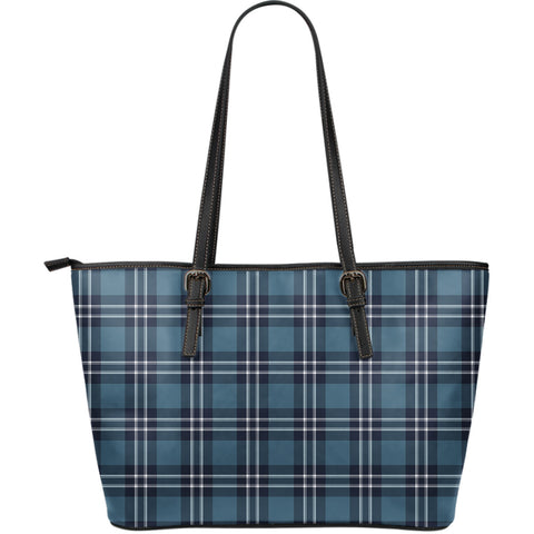 Earl of St Andrews Tartan Leather Tote Bag (Large) | Over 500 Tartans | Special Custom Design