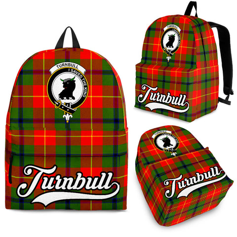 Image of Turnbull Tartan Clan Backpack | Scottish Bag | Adults Backpacks & Bags