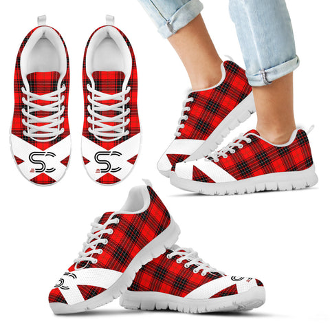 SC™ - Wemyss Modern Tartan Sneakers TH8