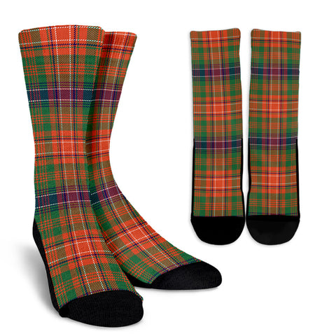 Wilson Ancient clans, Tartan Crew Socks, Tartan Socks, Scotland socks, scottish socks, christmas socks, xmas socks, gift socks, clan socks