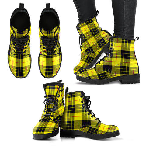MacLeod of Lewis Modern Tartan Leather Boots A9