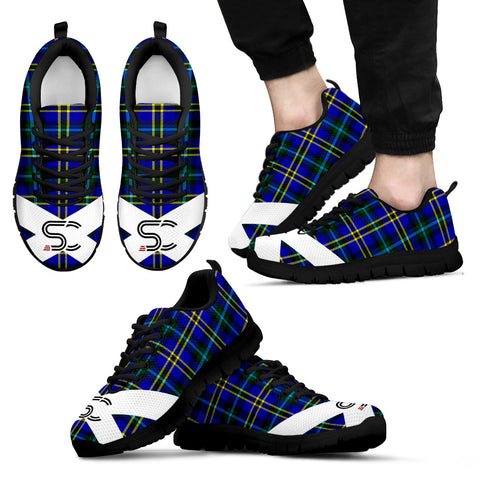 Image of Weir Modern Tartan Sneakers