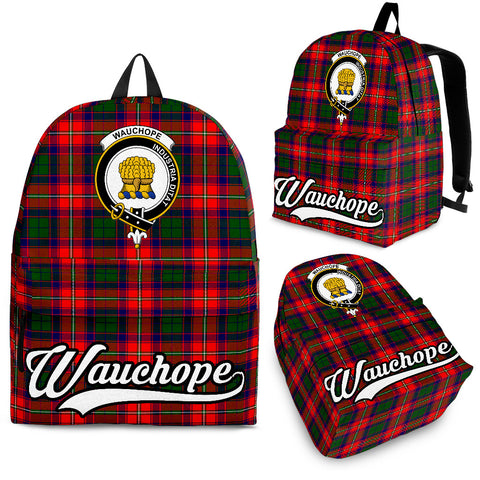 Image of Wauchope (or Waugh) Tartan Clan Backpack | Scottish Bag | Adults Backpacks & Bags