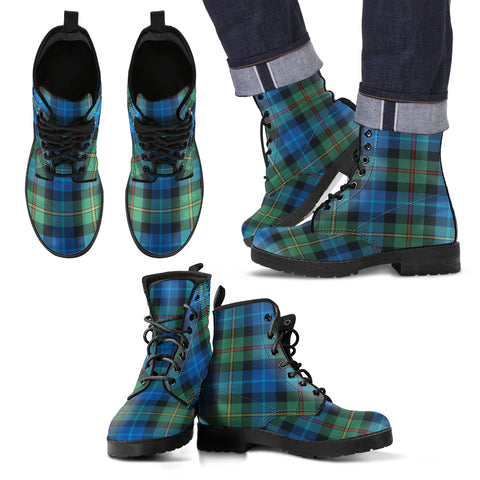 Smith Ancient Tartan Leather Boots Footwear Shoes