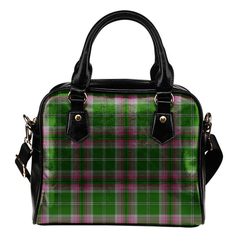 Image of Gray Hunting Tartan Shoulder Handbag for Women | Hot Sale | Scottish Clans
