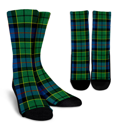 Forsyth Ancient clans, Tartan Crew Socks, Tartan Socks, Scotland socks, scottish socks, christmas socks, xmas socks, gift socks, clan socks
