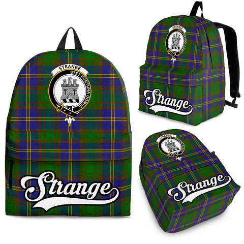 Strange (or Strang) Tartan Clan Backpack | Scottish Bag | Adults Backpacks & Bags