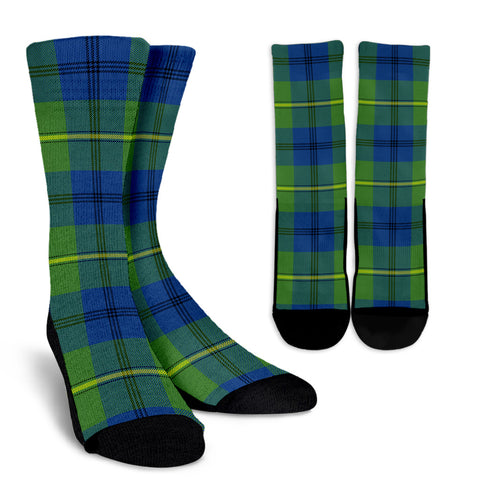 Johnston Ancient clans, Tartan Crew Socks, Tartan Socks, Scotland socks, scottish socks, christmas socks, xmas socks, gift socks, clan socks