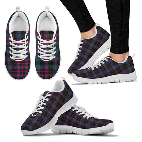 Image of Nairn, Women's Sneakers, Tartan Sneakers, Clan Badge Tartan Sneakers, Shoes, Footwears, Scotland Shoes, Scottish Shoes, Clans Shoes