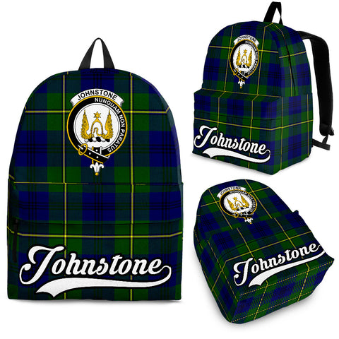 Johnstone Tartan Clan Backpack | Scottish Bag | Adults Backpacks & Bags