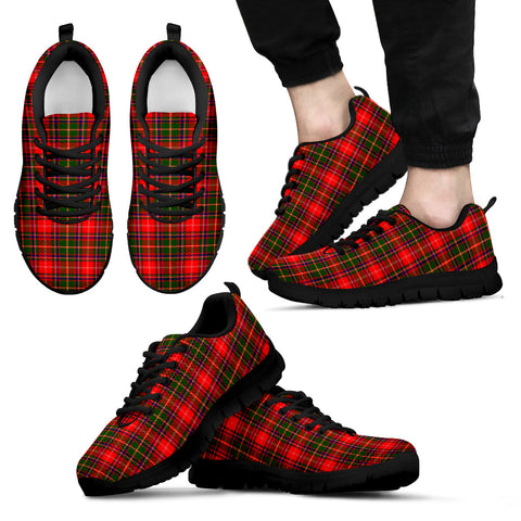 Somerville Modern, Men's Sneakers, Tartan Sneakers, Clan Badge Tartan Sneakers, Shoes, Footwears, Scotland Shoes, Scottish Shoes, Clans Shoes