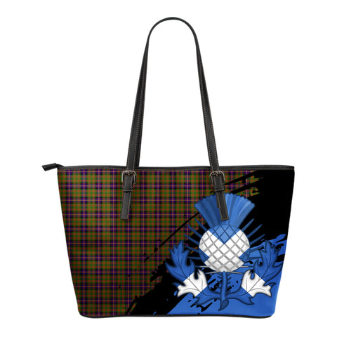 Cochrane Modern Leather Tote Bag Small | Tartan Bags