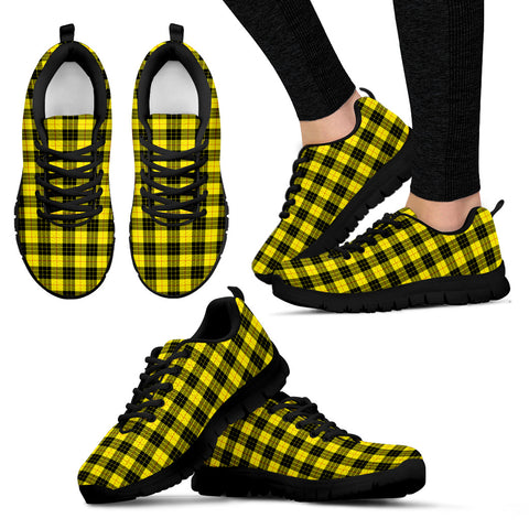 Image of MacLeod of Lewis Modern, Women's Sneakers, Tartan Sneakers, Clan Badge Tartan Sneakers, Shoes, Footwears, Scotland Shoes, Scottish Shoes, Clans Shoes