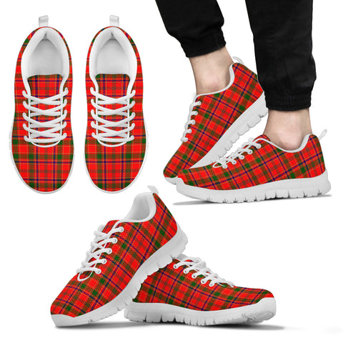 Munro Modern, Men's Sneakers, Tartan Sneakers, Clan Badge Tartan Sneakers, Shoes, Footwears, Scotland Shoes, Scottish Shoes, Clans Shoes