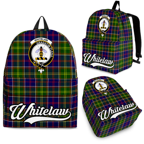 Image of Whitelaw Tartan Clan Backpack | Scottish Bag | Adults Backpacks & Bags