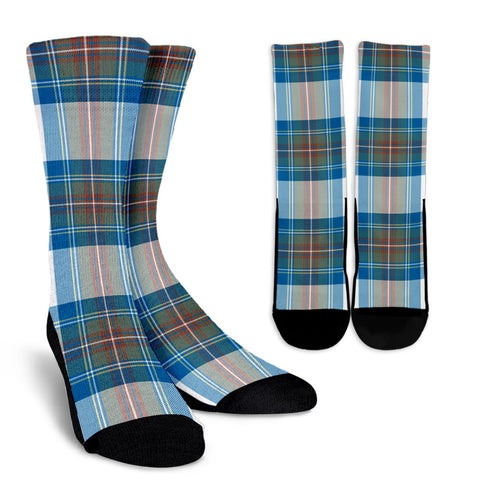 Stewart Muted Blue clans, Tartan Crew Socks, Tartan Socks, Scotland socks, scottish socks, christmas socks, xmas socks, gift socks, clan socks