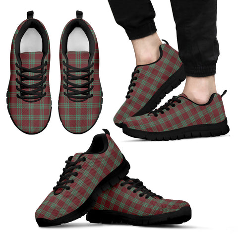 Image of MacGregor Hunting Ancient, Men's Sneakers, Tartan Sneakers, Clan Badge Tartan Sneakers, Shoes, Footwears, Scotland Shoes, Scottish Shoes, Clans Shoes