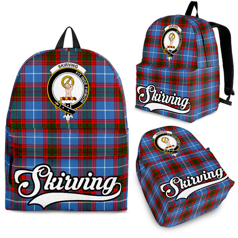 Skirving Tartan Clan Backpack | Scottish Bag | Adults Backpacks & Bags