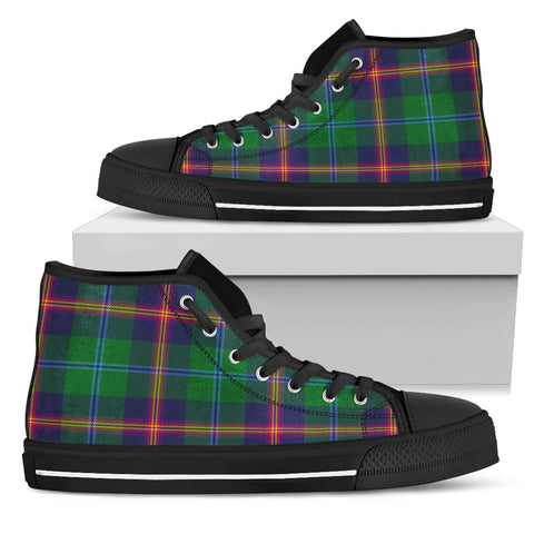 Tartan Canvas Shoes - Young Modern High Top | Over 500 Tartans