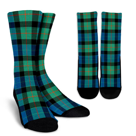 Gunn Ancient clans, Tartan Crew Socks, Tartan Socks, Scotland socks, scottish socks, christmas socks, xmas socks, gift socks, clan socks
