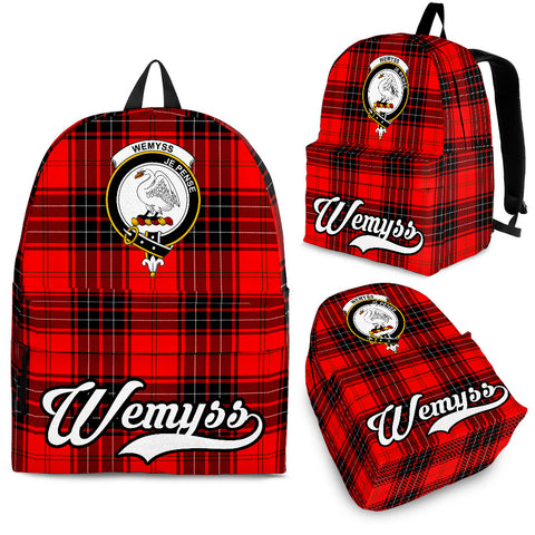 Image of Wemyss Tartan Clan Backpack | Scottish Bag | Adults Backpacks & Bags