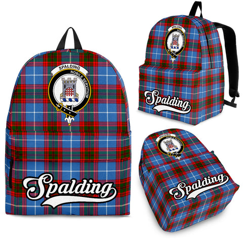 Spalding Tartan Clan Backpack | Scottish Bag | Adults Backpacks & Bags