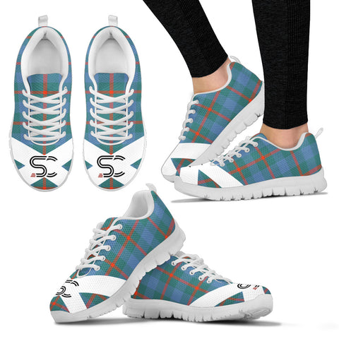 SC™ - Agnew Ancient Tartan Sneakers TH8