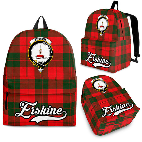 Erskine Tartan Clan Backpack | Scottish Bag | Adults Backpacks & Bags