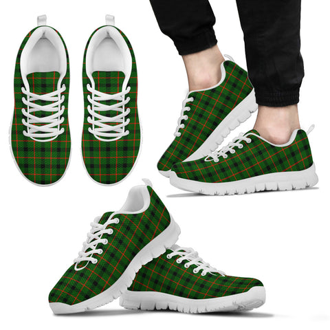 Image of Kincaid Modern, Men's Sneakers, Tartan Sneakers, Clan Badge Tartan Sneakers, Shoes, Footwears, Scotland Shoes, Scottish Shoes, Clans Shoes