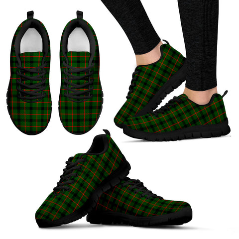 Image of Kincaid Modern, Women's Sneakers, Tartan Sneakers, Clan Badge Tartan Sneakers, Shoes, Footwears, Scotland Shoes, Scottish Shoes, Clans Shoes