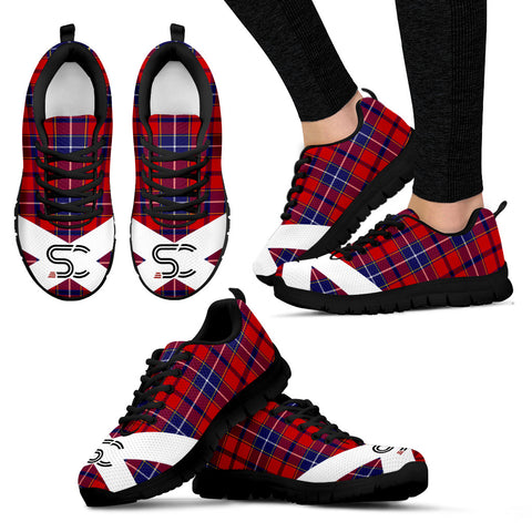 SC™ - Wishart Dress Tartan Sneakers TH8