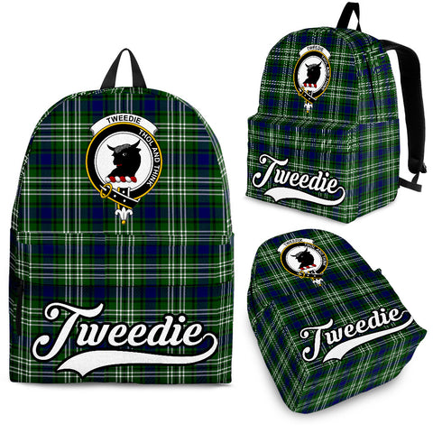 Tweedie Tartan Clan Backpack | Scottish Bag | Adults Backpacks & Bags