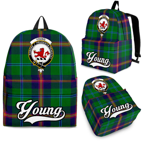 Young Tartan Clan Backpack | Scottish Bag | Adults Backpacks & Bags