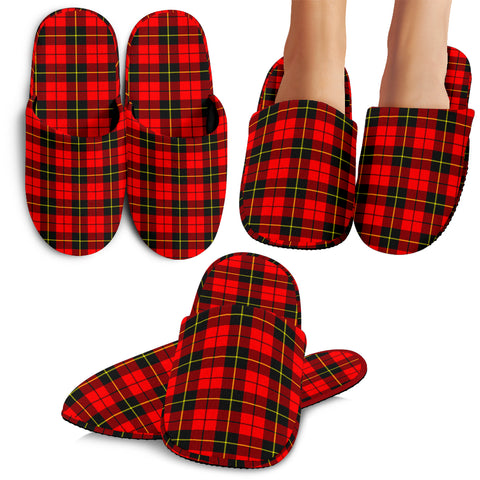 Wallace Hunting - Red, Tartan Slippers, Scotland Slippers, Scots Tartan, Scottish Slippers, Slippers For Men, Slippers For Women, Slippers For Kid, Slippers For xmas, For Winter
