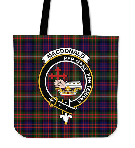 Tartan Tote Bag - MacDonald Clan Badge | Special Custom Design