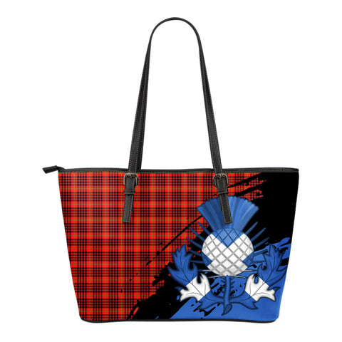 MacIan  Leather Tote Bag Small | Tartan Bags
