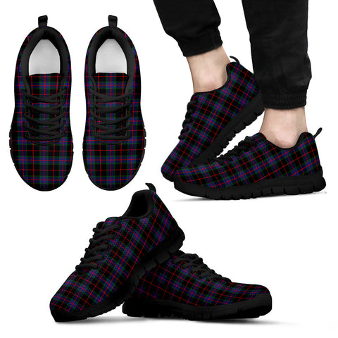 Nairn, Men's Sneakers, Tartan Sneakers, Clan Badge Tartan Sneakers, Shoes, Footwears, Scotland Shoes, Scottish Shoes, Clans Shoes