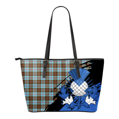 Anderson Ancient Leather Tote Bag Small | Tartan Bags
