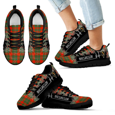 MacGregor Ancient Tartan Heartbeat Sneakers TH8