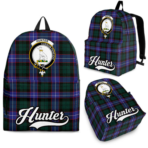 Hunter Tartan Clan Backpack | Scottish Bag | Adults Backpacks & Bags