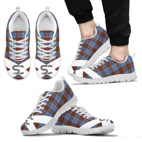 Image of SC™ - Anderson Modern Tartan Sneakers TH8