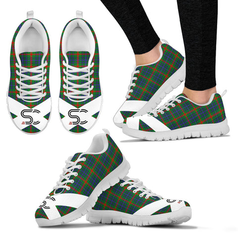 Image of SC™ - Aiton Tartan Sneakers TH8