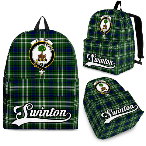 Swinton Tartan Clan Backpack | Scottish Bag | Adults Backpacks & Bags