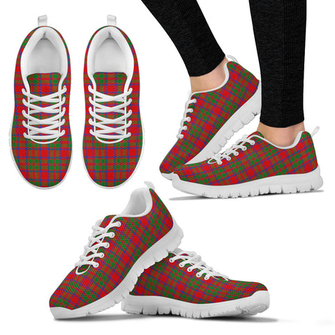 Image of MacKintosh Modern, Women's Sneakers, Tartan Sneakers, Clan Badge Tartan Sneakers, Shoes, Footwears, Scotland Shoes, Scottish Shoes, Clans Shoes