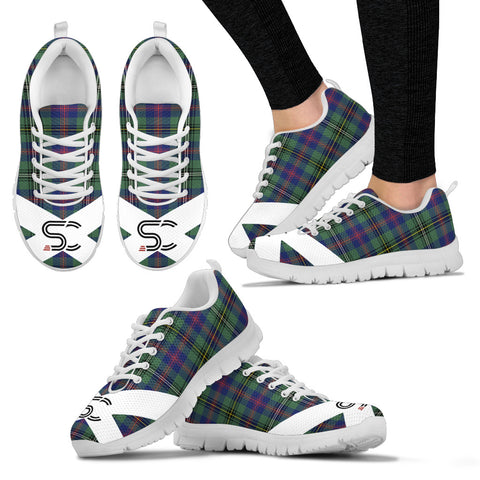 SC™ - Wood Modern Tartan Sneakers TH8