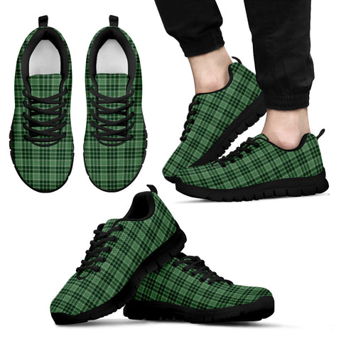 MacDonald Lord of the Isles Hunting, Men's Sneakers, Tartan Sneakers, Clan Badge Tartan Sneakers, Shoes, Footwears, Scotland Shoes, Scottish Shoes, Clans Shoes