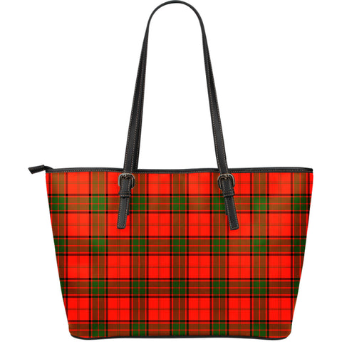 Adair Tartan Leather Tote Bag (Large) | Over 500 Tartans | Special Custom Design